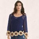 trico azul